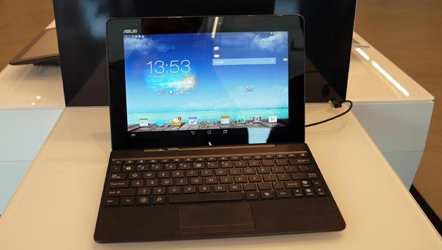 Asus' Tegra-4-Tablet auf der IFA ausprobiert (Bild: Dominik Erlinger)