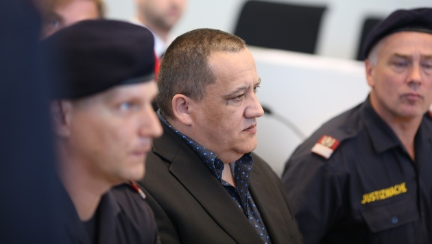 Michael K. wurde des Mordes an Julia Kührer schuldig gesprochen. (Bild: Gerhard Bartel)