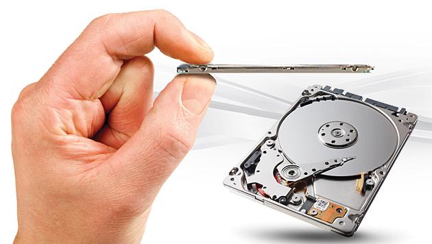 Seagate stellt 500-GB-Festplatte für Tablets vor (Bild: Seagate, krone.at-Grafik)
