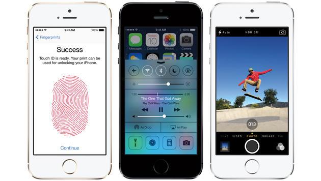 iPhone 5S hilft Biometrie-Branche auf die Sprünge (Bild: Apple)