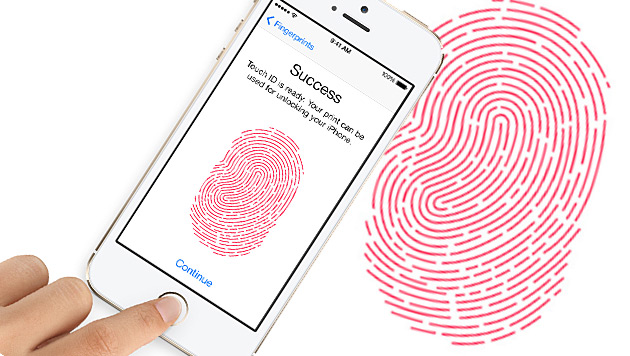 Apple will mit Fingerscanner Handyräuber fassen (Bild: Apple, krone.at-Grafik)