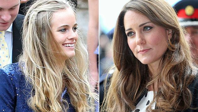 Kate soll Harrys Freundin nicht ausstehen können (Bild: AP)