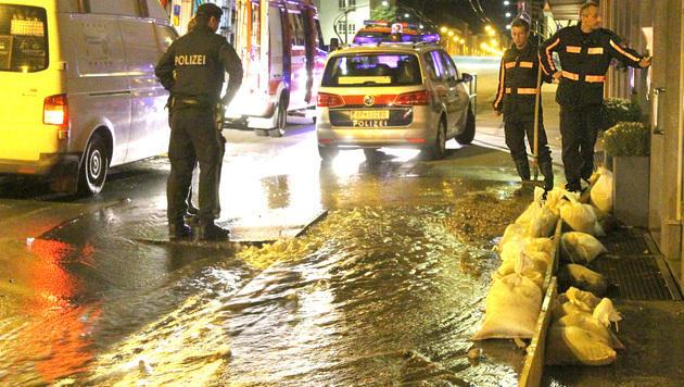 Wasserrohrbruch in Salzburg: Keller überflutet (Bild: MARKUS TSCHEPP)