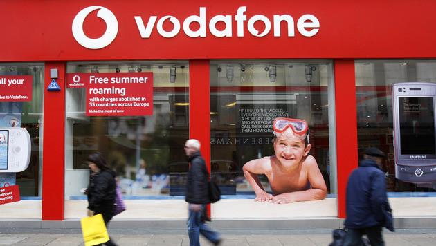Bankdaten von Millionen Vodafone-Kunden gestohlen (Bild: AP)