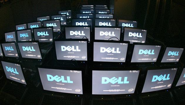 Milliardenkauf: Dell schluckt Speicher-Firma EMC (Bild: dpa/Kay Nietfeld)