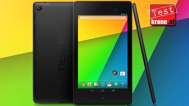 Nexus 7: Neue Generation des Tablet-Hits im Test (Bild: Google, krone.at-Grafik)