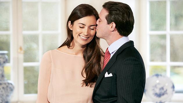 Prinz Felix von Luxemburg heiratet seine Claire (Bild: EPA)