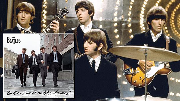 Neue Doppel-CD der Beatles erscheint im November (Bild: EMI, Universal Music)