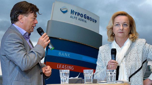 """Kogler: """"Milliardengrab Hypo wird täglich größer"""" (Bild: APA/BARBARA GINDL, APA/GERT EGGENBERGER, krone.at-Grafik)"""