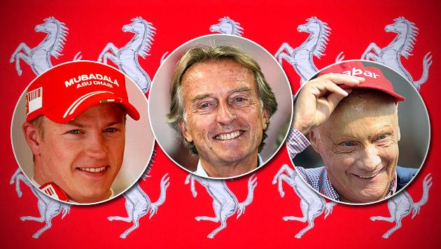 Ferrari-Boss hofft bei Räikkönen auf Lauda-Effekt (Bild: EPA, dpa/David Ebener)