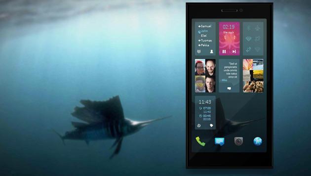 Handy-Linux Sailfish OS nun zu Android kompatibel (Bild: sailfishos.org, krone.at-Grafik)
