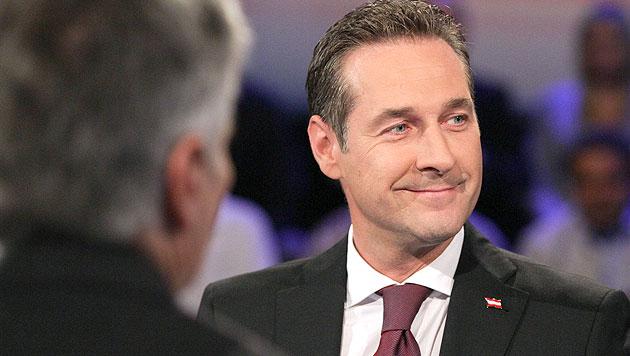 Hitziger Schlussspurt bei Faymann - Strache (Bild: ORF)