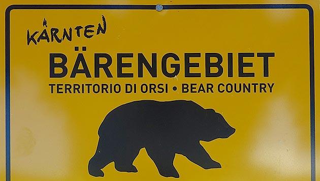 Kärntner Bauerpräsident bläst zur Jagd auf Bären (Bild: Hannes Wallner)