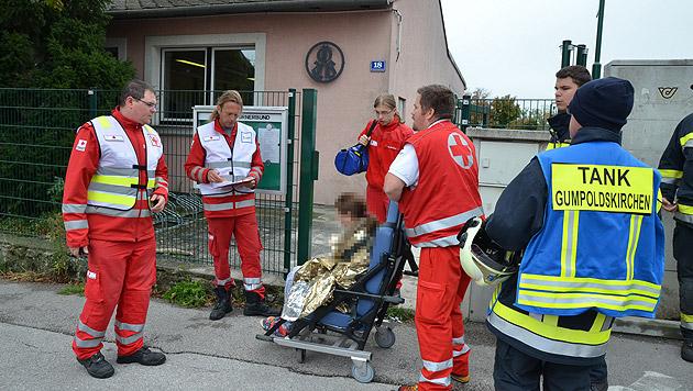 Pfefferspray am WC versprüht - 61 Kinder im Spital (Bild: Lukas Derkits/Pressestelle BFK Mödling)