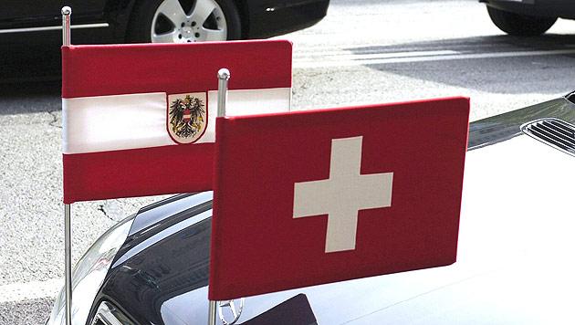 Steuerabkommen mit Schweiz brachte bisher 733 Mio. (Bild: APA/Lukas Lehmann/Keystone)