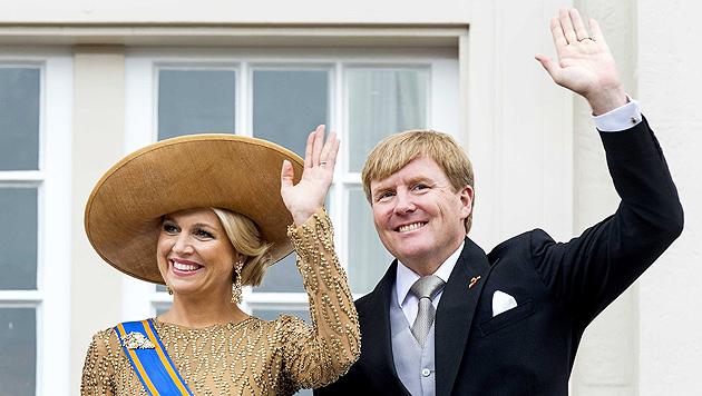 Willem-Alexander dankte seiner Mutter in Thronrede (Bild: EPA)