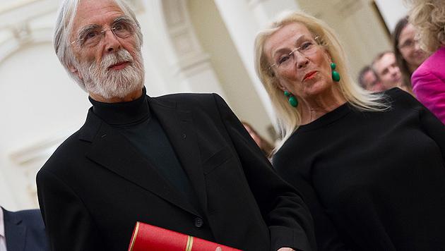 Haneke an Uni Graz zum Ehrendoktor  ernannt (Bild: APA/ERWIN SCHERIAU)