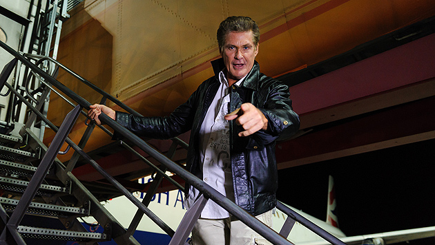 "Streit um Gage? Hasselhoff verlässt ""Big Brother"" (Bild: Sat. 1)"