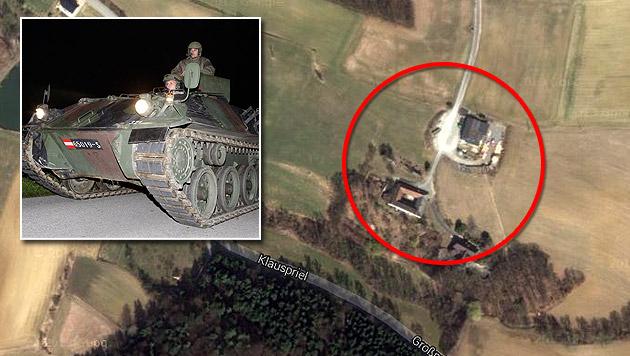 Wilderer-Massaker von Annaberg: Ein Jahr danach (Bild: maps.google.at, APA/GEORG HOCHMUTH, krone.at-Grafik)