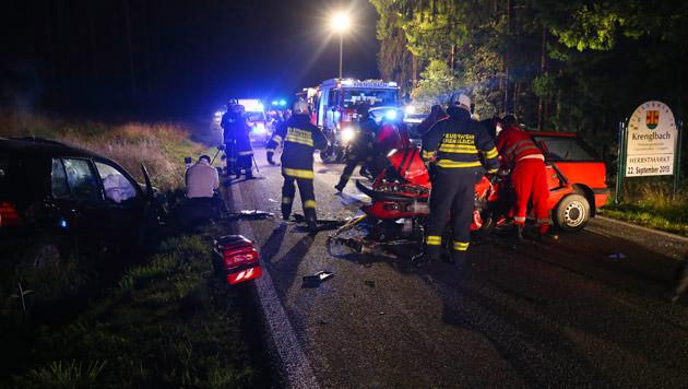 19-jährige Lenkerin bei Frontalcrash in OÖ getötet (Bild: laumat.at)