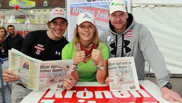 Tag des Sports lockt mit Hirscher & Co. in Prater! (Bild: Gerhard Gradwohl)