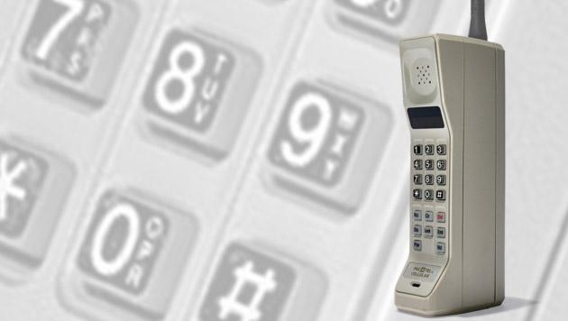 Als das Handy läuten lernte: 30 Jahre Mobiltelefon (Bild: Motorola, krone.at-Grafik)