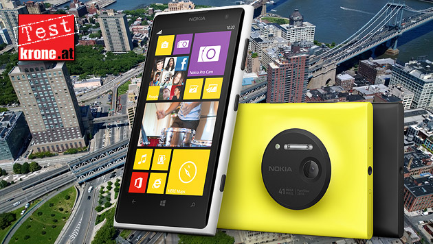 Lumia 1020: Nokias 41-Megapixel-Smartphone im Test (Bild: Nokia, krone.at-Grafik)