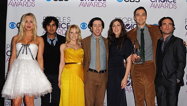 "Stars im Gehaltspoker bei ""The Big Bang Theory"" (Bild: AP)"