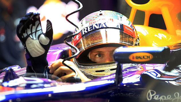 Weltmeister Vettel holt Pole Position vor Rosberg (Bild: AP)
