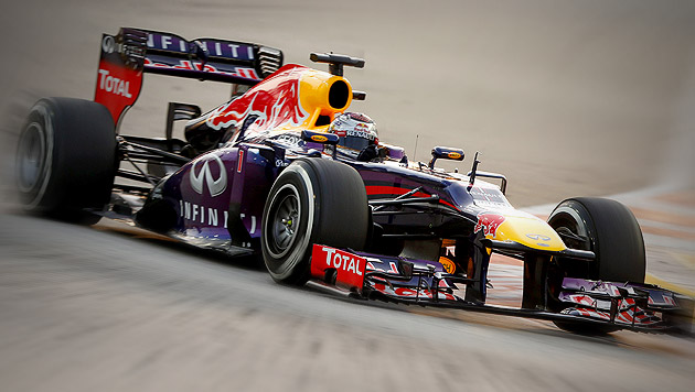 Weltmeister Vettel holt Pole Position vor Rosberg (Bild: EPA, krone.at-Grafik)
