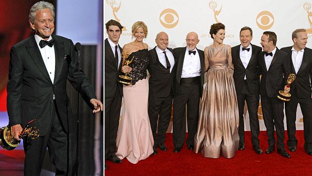 """Douglas und """"Breaking Bad"""" räumen bei Emmys ab (Bild: AP)"""