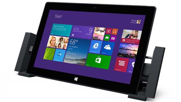 Microsofts zweite Surface-Generation am Prüfstand (Bild: Microsoft)