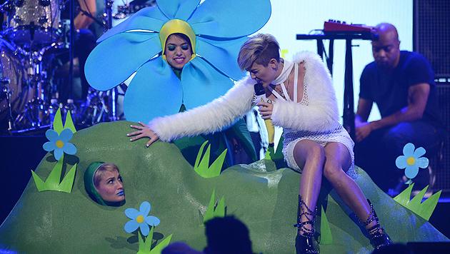 """Miley zu Nackt-Shows: """"Tue, was mein Herz sagt"""" (Bild: AP)"""