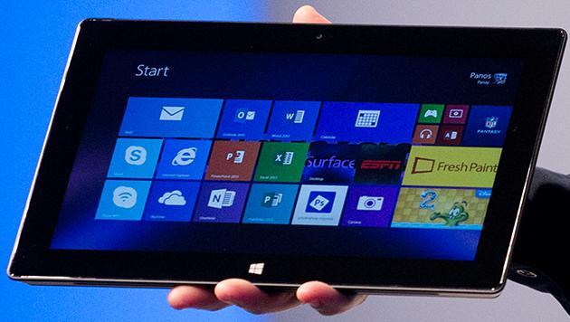 Stellt Microsoft am 20. Mai ein Surface Mini vor? (Bild: AP)