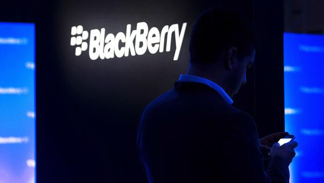 BlackBerry-Umsatz bricht um 56 Prozent ein (Bild: AP)