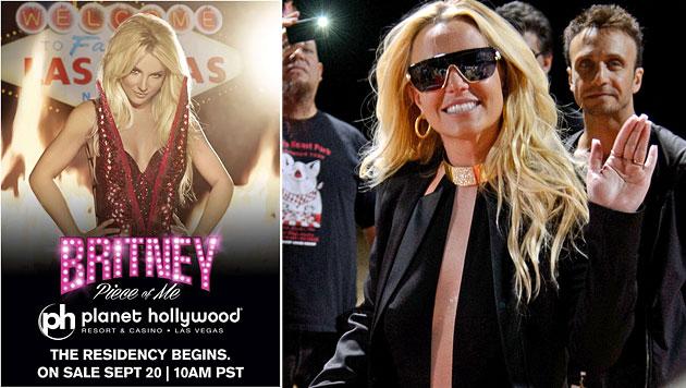 Mit ihrer Las-Vegas-Show verdient Britney Spears kolportierte 15 Millionen Dollar. (Bild: Twitter, AP)