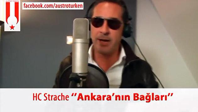 HC-Rap auf Türkisch sorgt für Lacher auf Facebook (Bild: Screenshot: Facebook)
