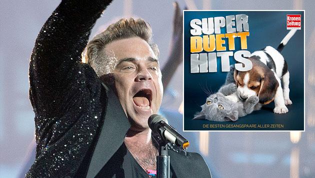 """""""Krone Super Duett Hits"""": Zweisamkeit ist gut (Bild: Sony Music, AP, krone.at-Grafik)"""