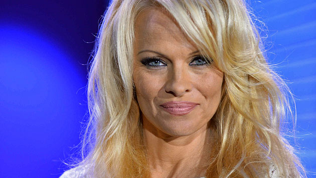 "Pamela Anderson zog ins ""Big Brother""-Haus (Bild: Sat 1)"
