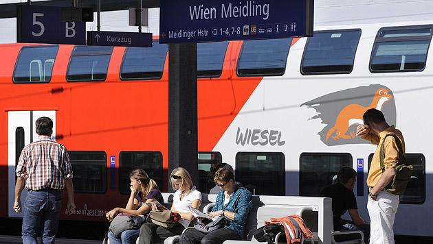 Defekt in Stellwerk sorgte für Chaos in Wien (Bild: APA/Helmut Fohringer)