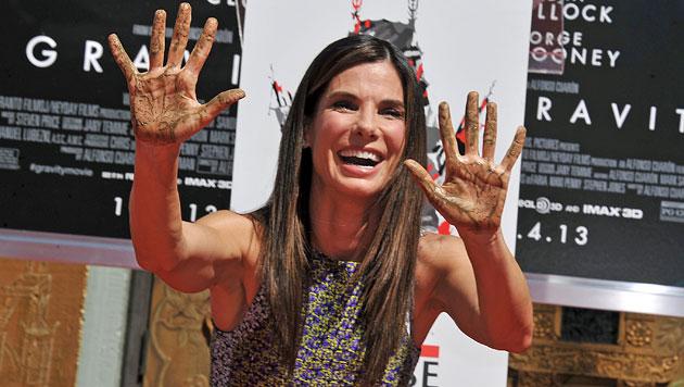 Hollywoods Goldmädchen: Sandra Bullock ist 50 (Bild: AP)