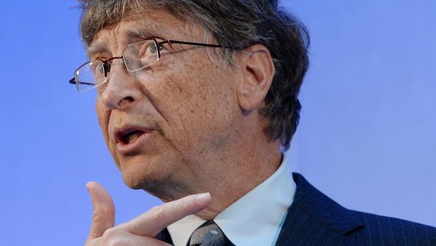 """Bill Gates: """"Strg + Alt + Entf war ein Fehler"""" (Bild: EPA)"""