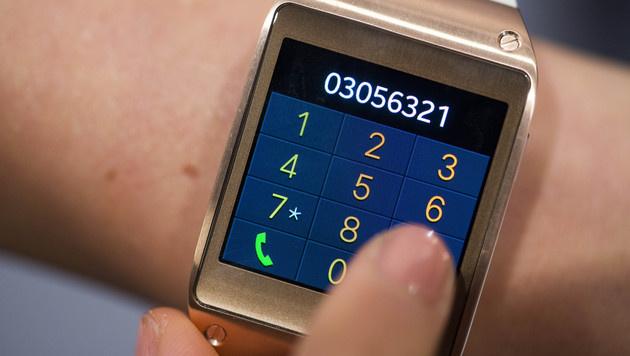 Smartwatches sind zu Weihnachten noch kein Thema (Bild: AP)