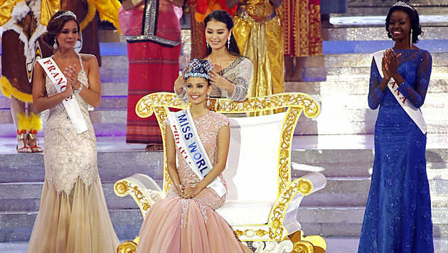 "Studentin aus den Philippinen ist ""Miss World"" (Bild: AP)"