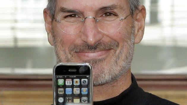 Apple-Patent wegen Keynote von Steve Jobs ungültig (Bild: dpa/Peer Grimm)