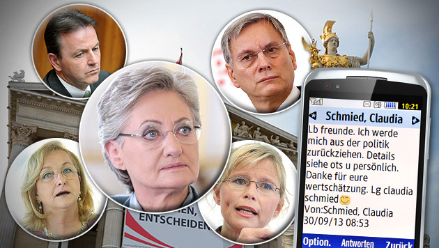 Köpferollen bei SPÖ und ÖVP beginnt (Bild: Klemens Groh, APA/GEORG HOCHMUTH, APA/HANS PUNZ, krone.at-Grafik)