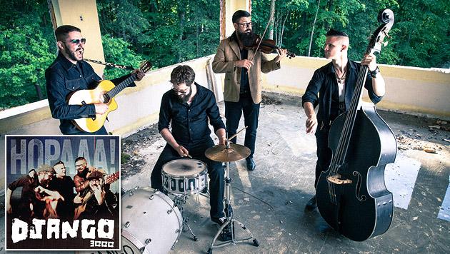 Django 3000 feiern den leichtfüßigen Gypsy-Pop (Bild: Südpolmusic)