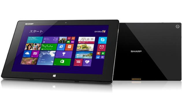 Sharp enthüllt wasserdichtes Windows-8.1-Tablet (Bild: Sharp)