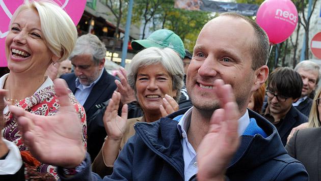 Auch NEOS für Vereinigung mit Liberalem Forum (Bild: APA/Herbert Pfarrhofer)