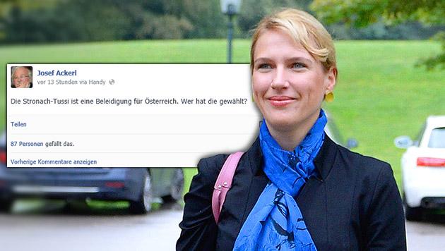 "SP-Landeschef Ackerl empört mit ""Tussi""-Sager (Bild: APA/ROBERT JAEGER, facebook.com, krone.at-Grafik)"